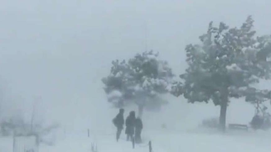 Powerful winter storm causes chaos with holiday travel