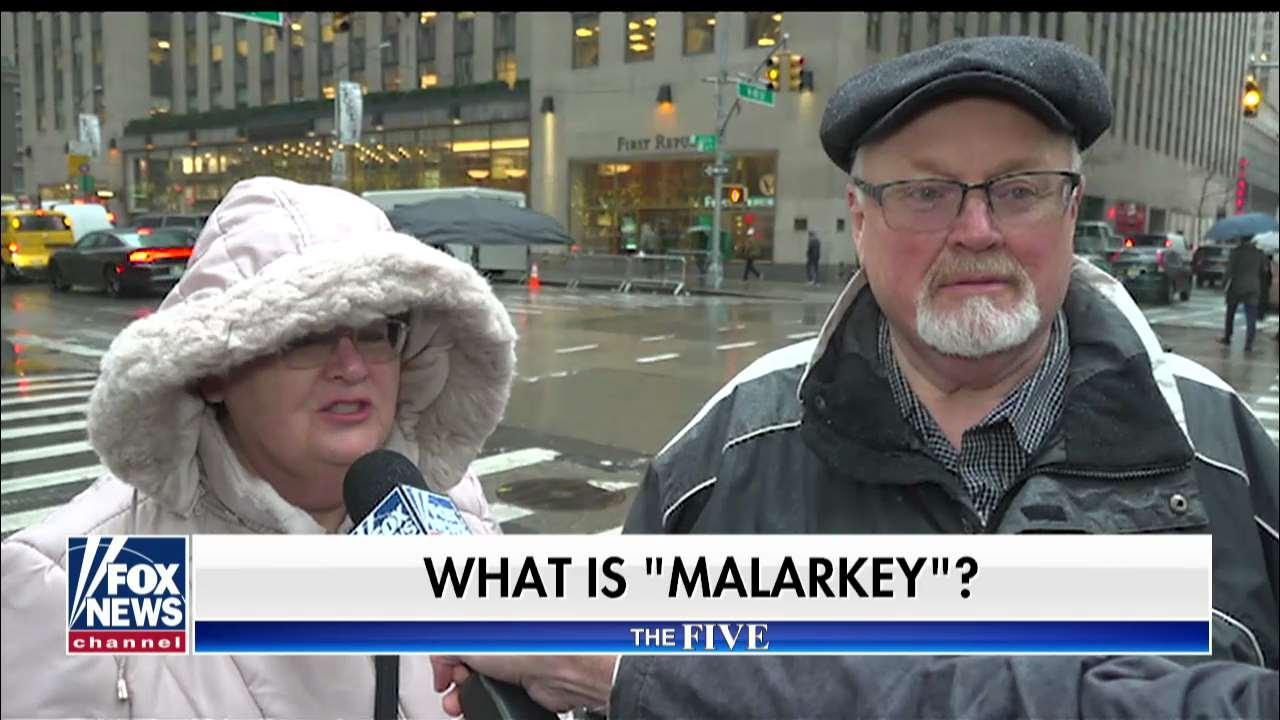 'The Five' asks people on Fox Square what they think Joe Biden's 'No Malarkey' campaign bus tour means