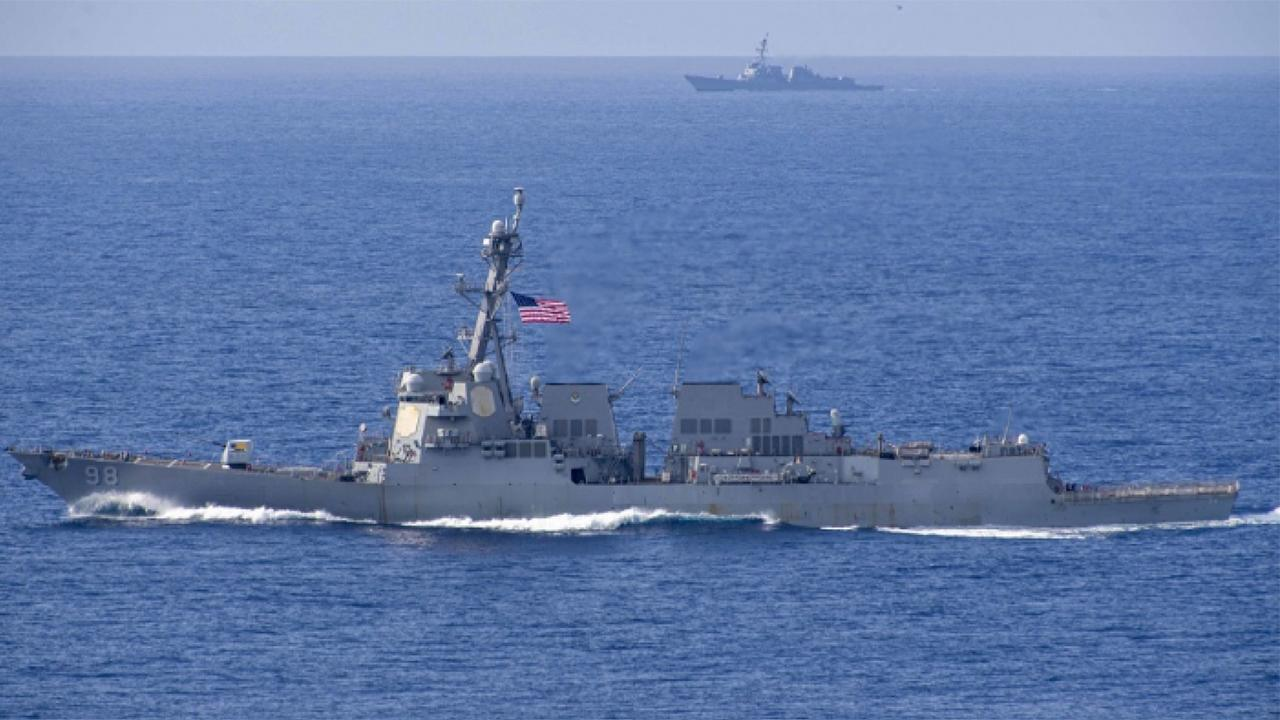 US Navy seizes suspected Iranian missile parts bound for Yemen