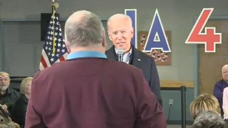 Did Joe Biden call an Iowa voter 'fat' during heated exchange? Twitter sure thinks so