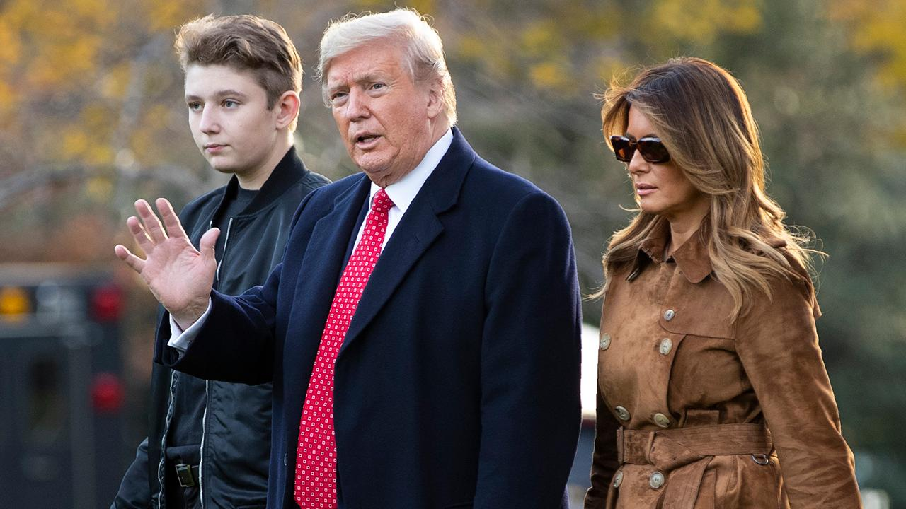 Melania Trump defends son after professor makes joke at Barron's expense during impeachment hearing