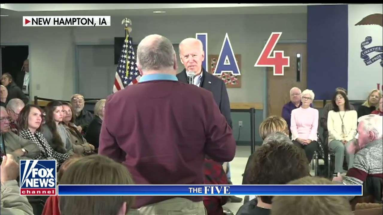 The Five reacts to Biden's heated Iowa exchange