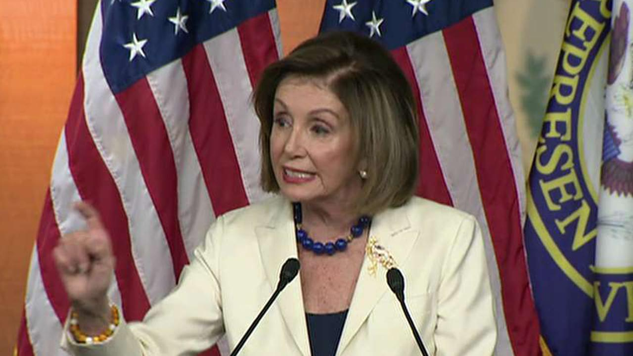 Pelosi insists she doesn't hate Trump, says she prays for him