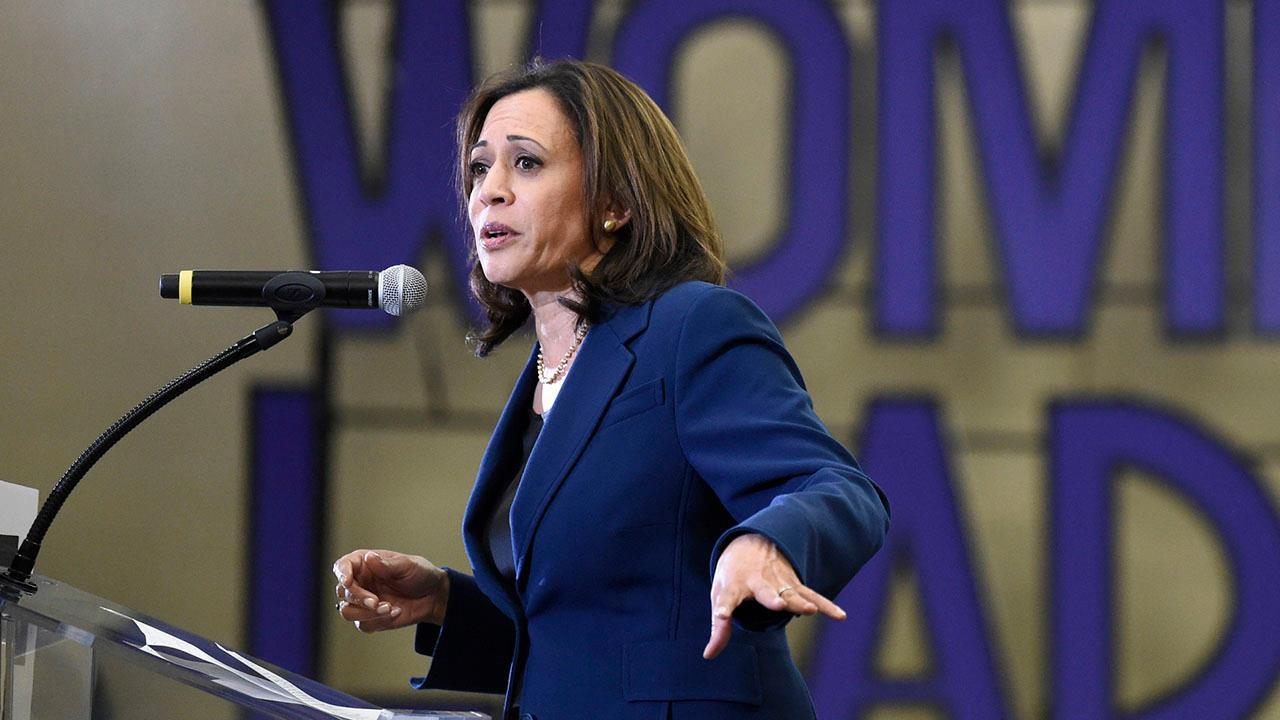Sen. Kamala Harris calls on McConnell to bring back Senate amid unemployment surge
