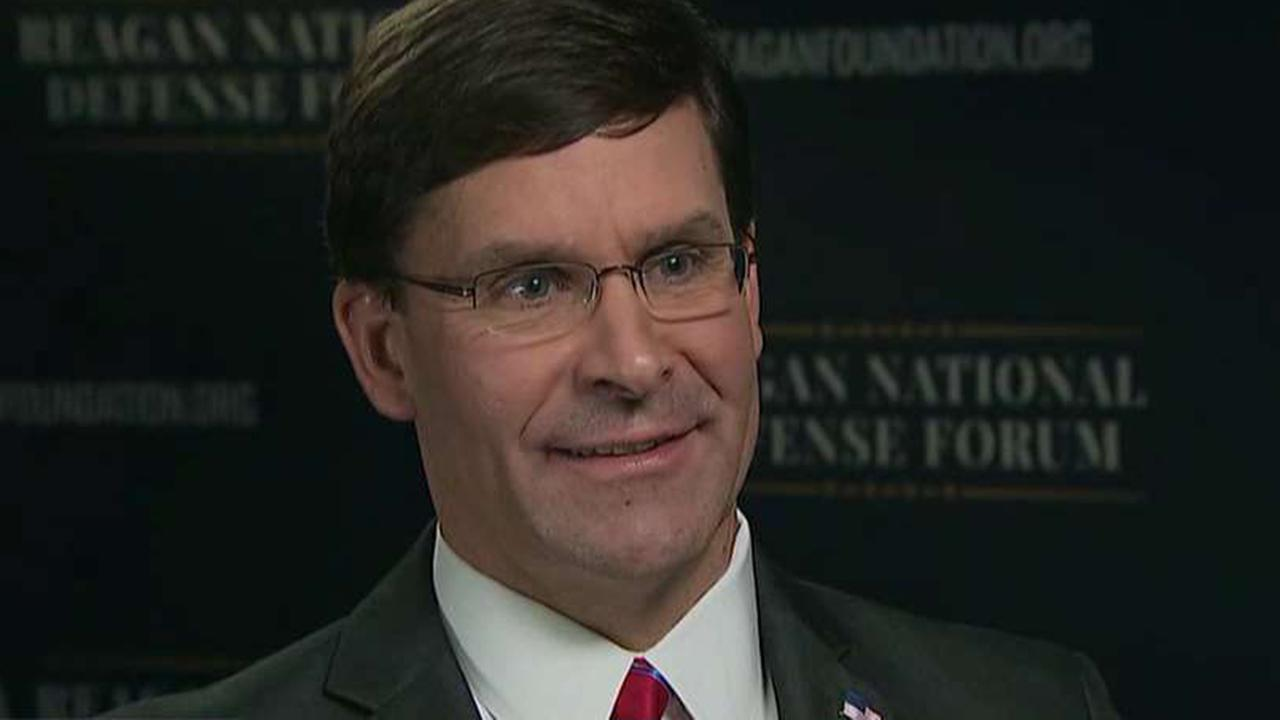 Defense Secretary Mark Esper on challenges to US national security
