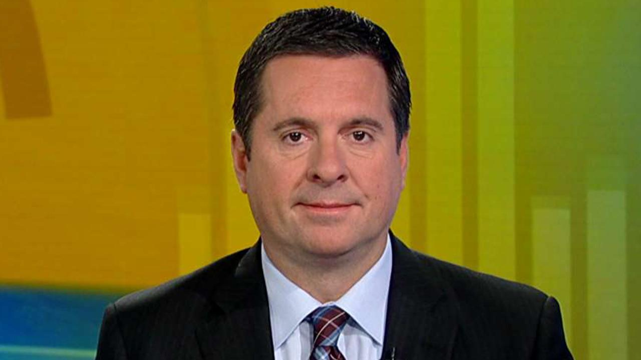 Westlake Legal Group 694940094001_6114034187001_6114035900001-vs Nunes looks at legal options after Schiff releases phone records in impeachment inquiry Ronn Blitzer fox-news/politics/trump-impeachment-inquiry fox-news/politics/house-of-representatives fox-news/person/devin-nunes fox-news/person/adam-schiff fox-news/news-events/russia-investigation fox-news/media/fox-news-flash fox-news/media fox news fnc/politics fnc article 48633747-7025-5682-9745-71dea67044f2