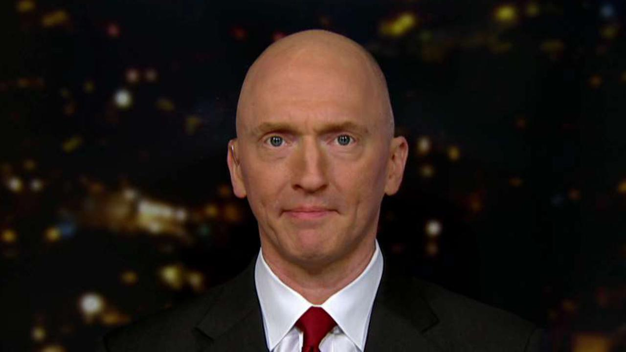 Carter Page plans on going after FBI agents who spied on him