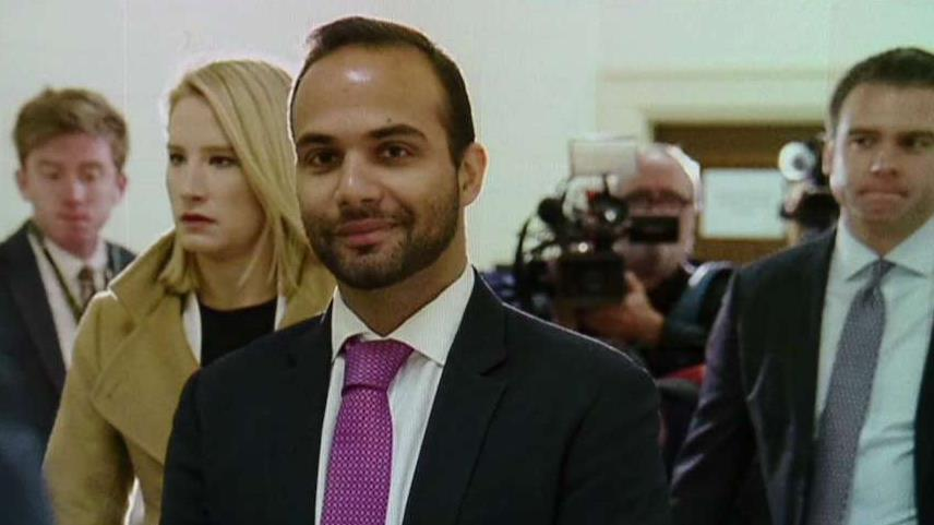 George Papadopoulos says surveillance of the Trump campaign 'makes Watergate look like small potatoes'