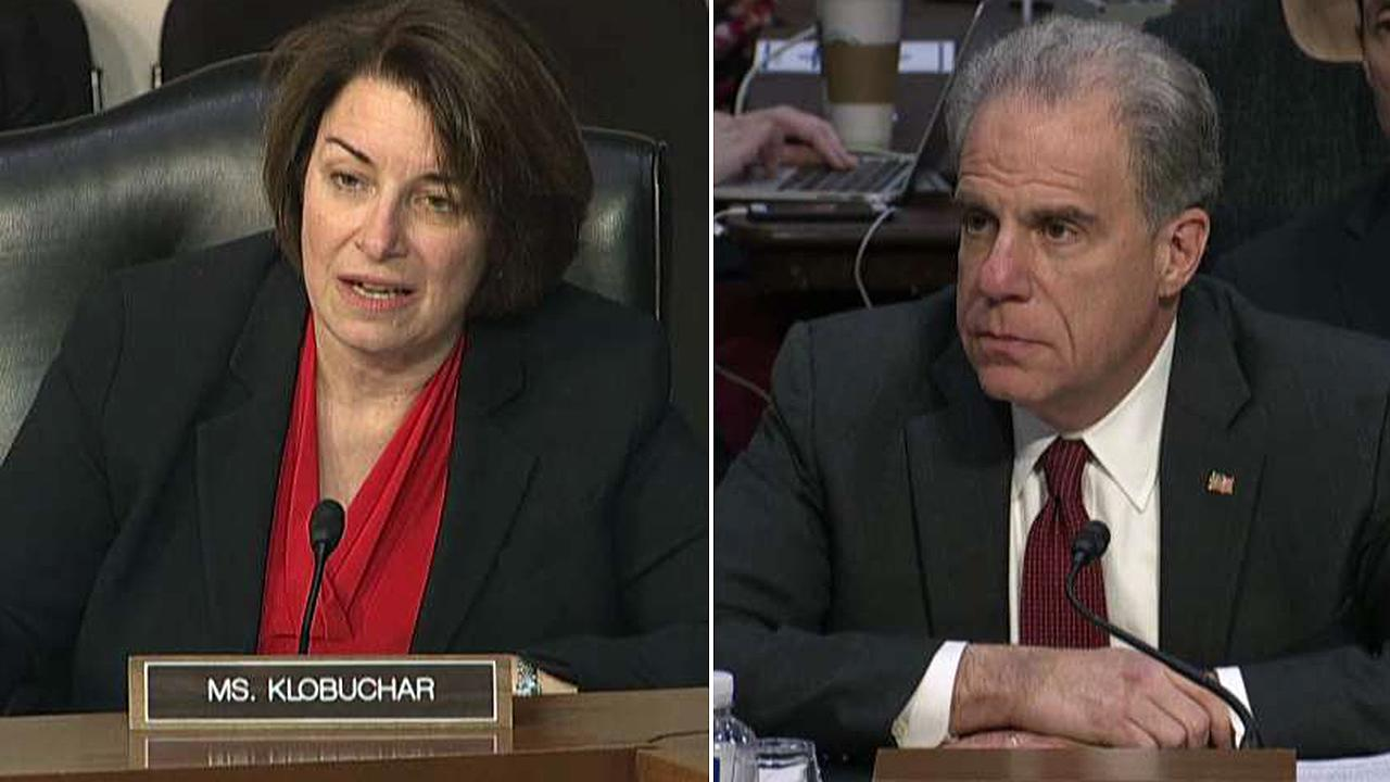 Westlake Legal Group 694940094001_6115044744001_6115045136001-vs Klobuchar goes on attack, grills Horowitz on Russian interference Ronn Blitzer fox-news/politics/trump-impeachment-inquiry fox-news/politics/justice-department fox-news/person/amy-klobuchar fox-news/news-events/russia-investigation fox news fnc/politics fnc c85603ff-639f-5468-b6af-adc49622119b article
