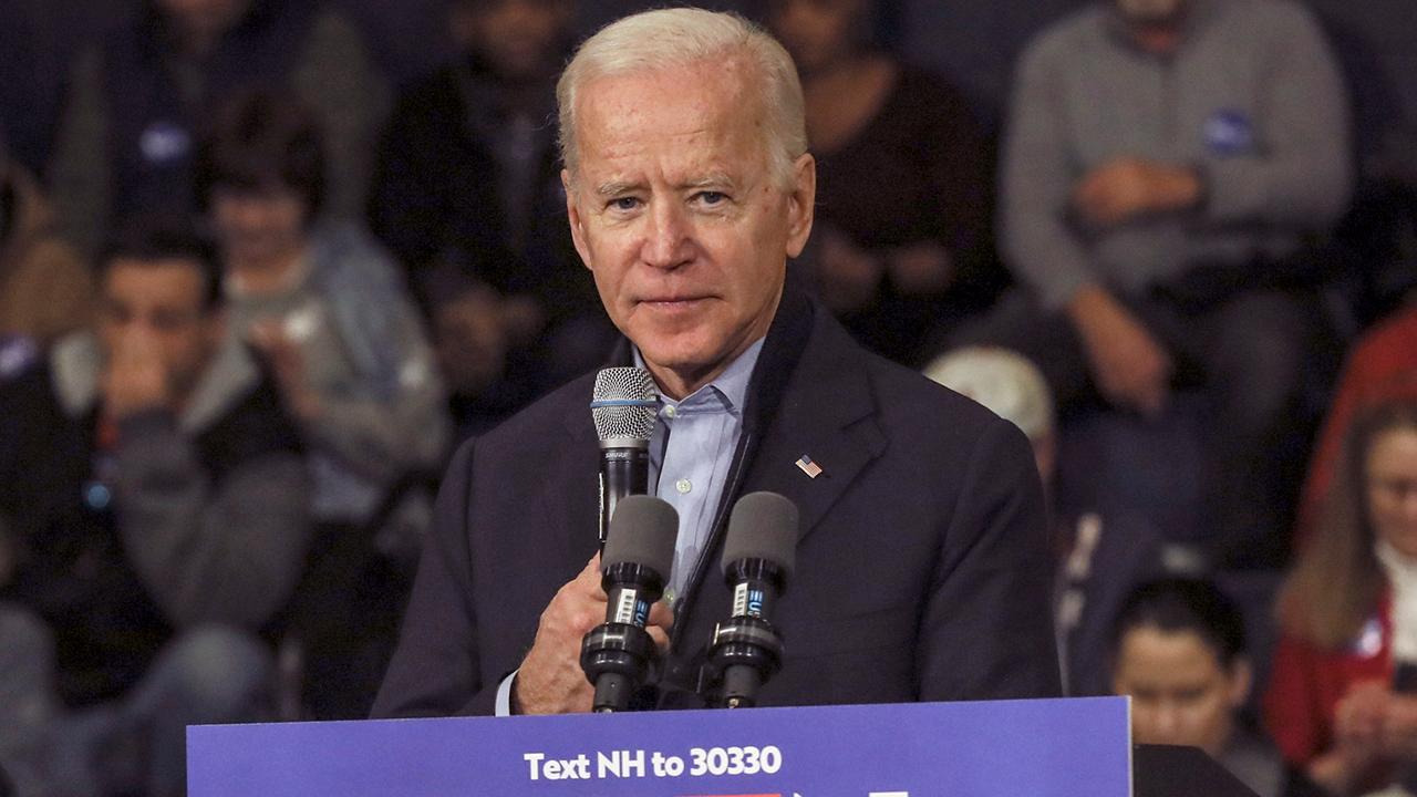 Biden denies one-term promise