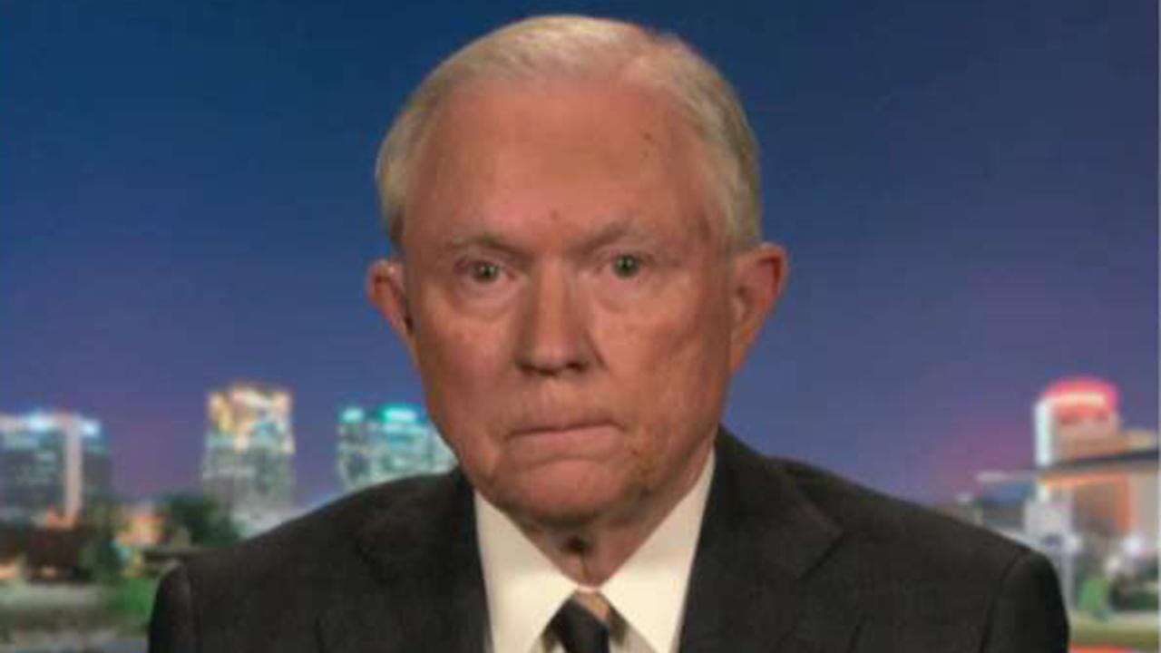 Jeff Sessions on IG report revealing email altering: 'A stunning development'