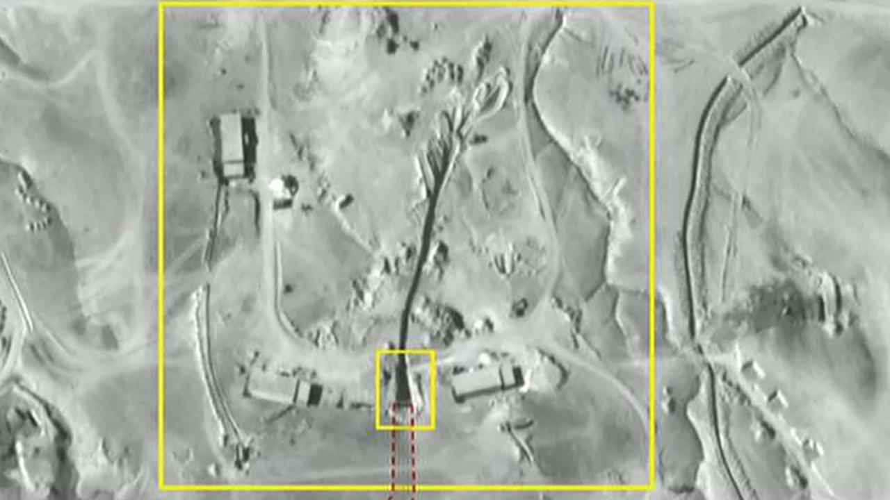 Images show Iran building tunnel in Syria to store missiles