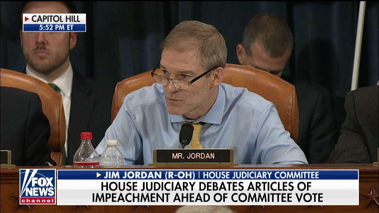 Jim Jordan: Adam Schiff is obstructing the House impeachment inquiry, not Trump