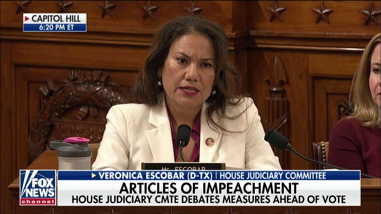 Rep. Veronica Escobar slams GOP 'enablers' of Trump at this 'dark moment in American history'