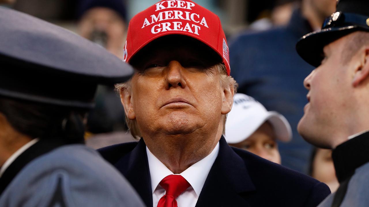 President Trump calls Democrats' impeachment push the 'greatest con job in the history of American politics