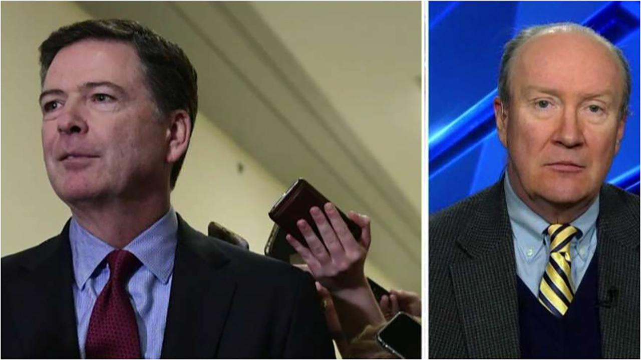 Andy McCarthy: James Comey was far more than a bystander in the Russia investigation