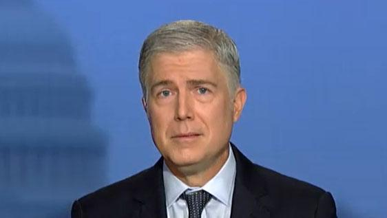 Justice Gorsuch: I want an 'enduring constitution'