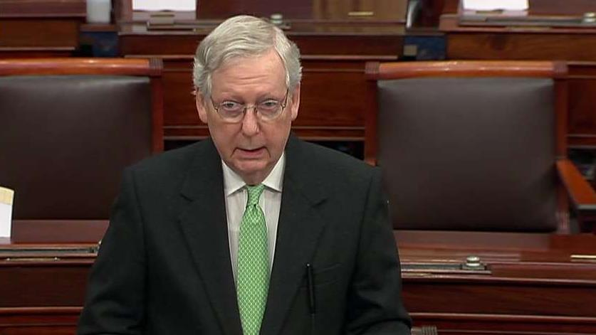 McConnell rips Schumer's requests for Senate impeachment trial: This could set a 'nightmarish precedent'