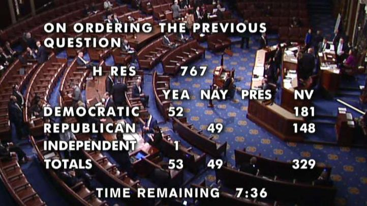 House lawmakers work through procedural votes ahead of debate on articles of impeachment