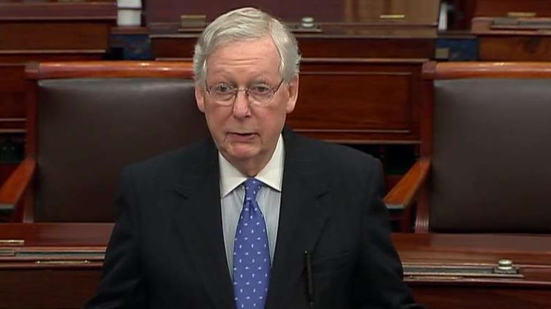 Sen. McConnell lectures House Democrats after impeachment: History and precedent matter
