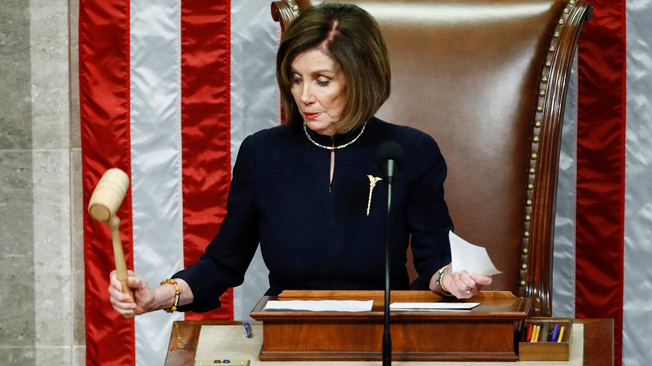 Pelosi signals she may not send articles of impeachment to the Senate without reassurances on process