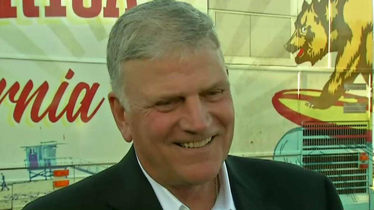 Franklin Graham responds to Christianity Today for calling for Trump's ouster