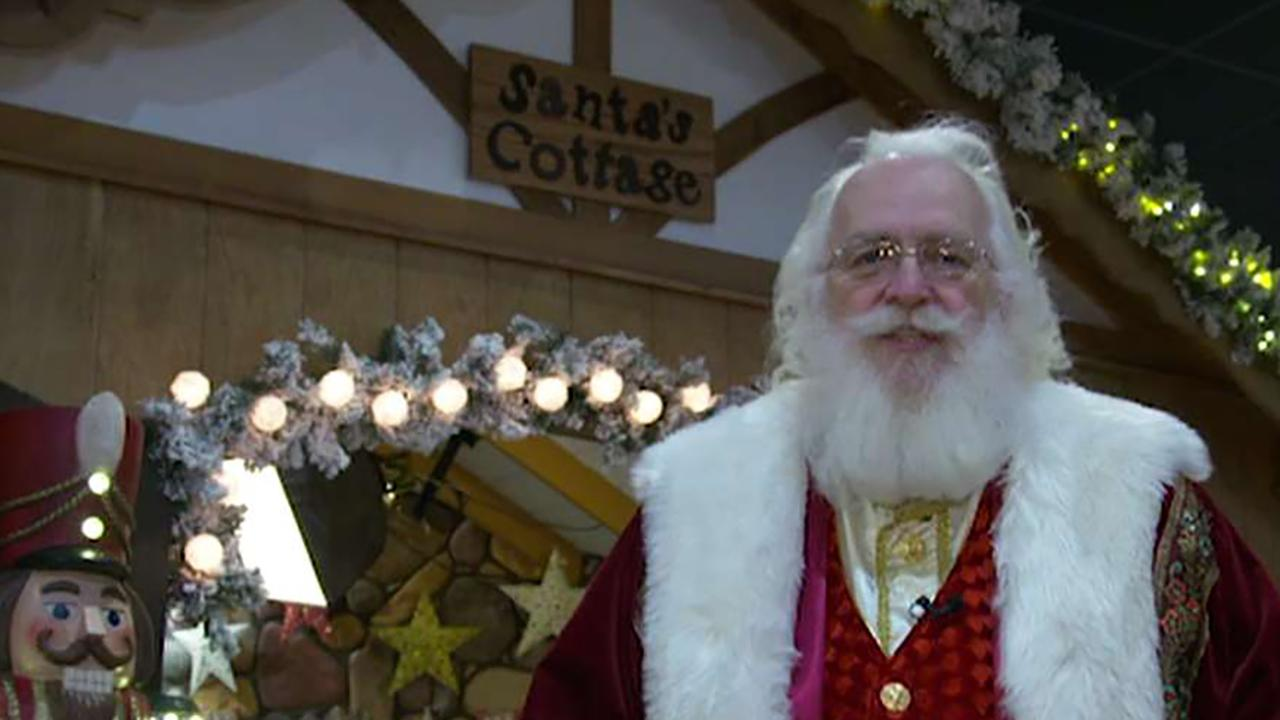 'Fox & Friends First' visits the Indiana town known for its Christmas theme.