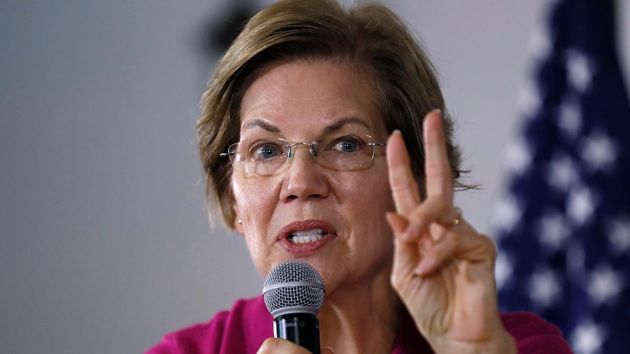 Elizabeth Warren under fire over past big donor fundraisers
