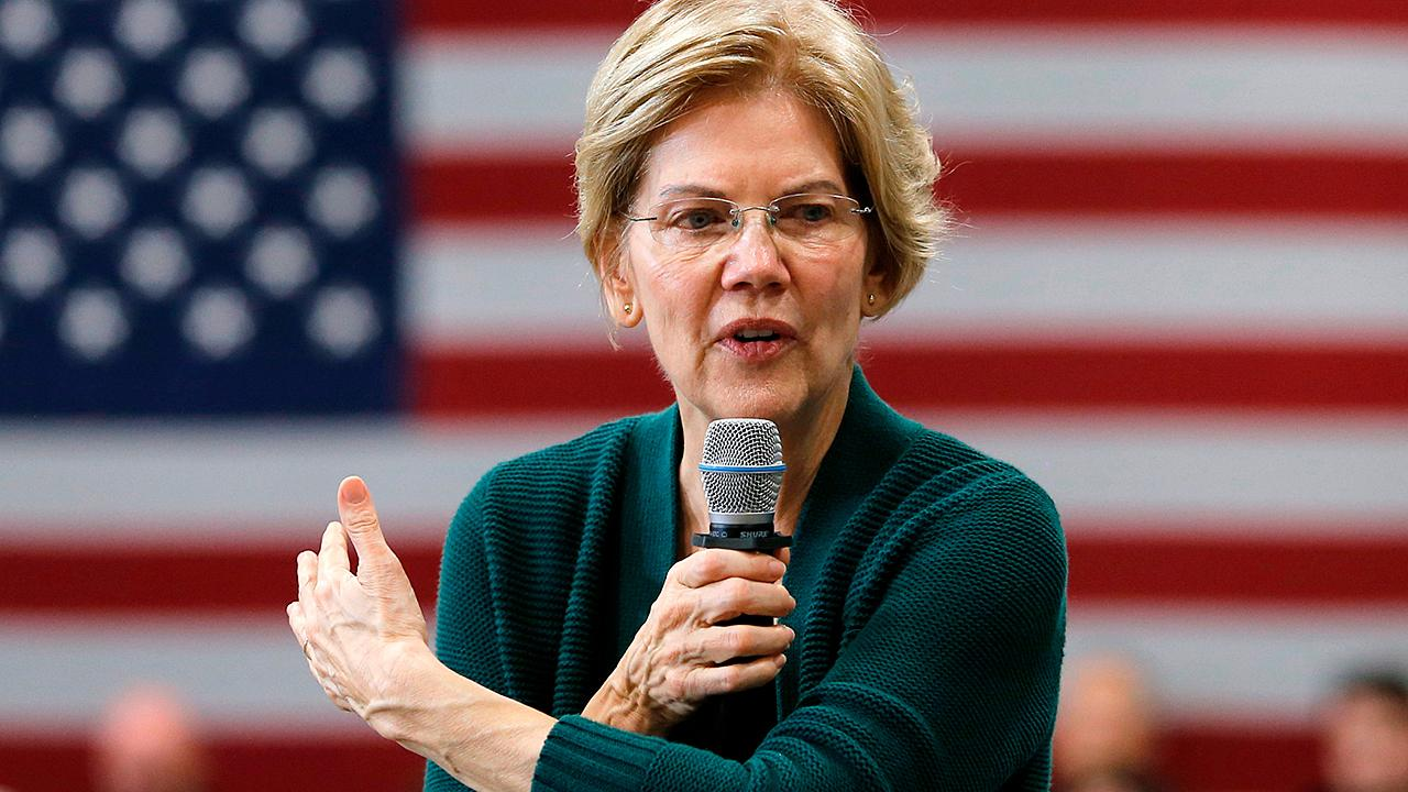 Elizabeth Warren defends her attack on Pete Buttigieg's wine-cave fundraiser