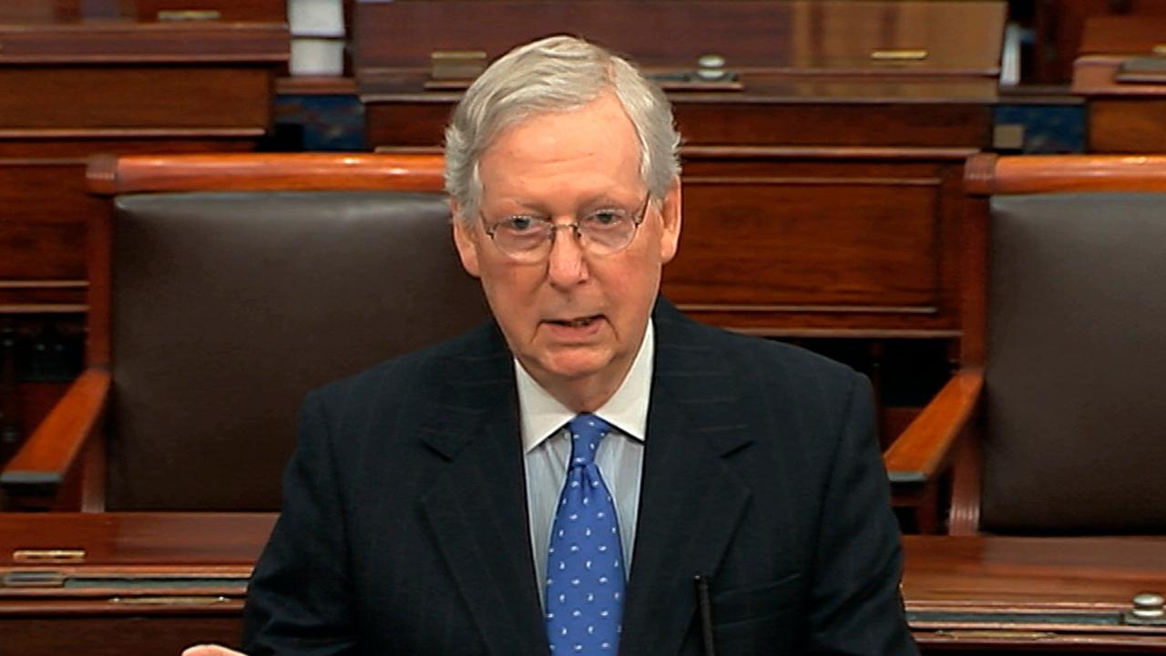 McConnell dismisses claims of unfair impeachment trial process
