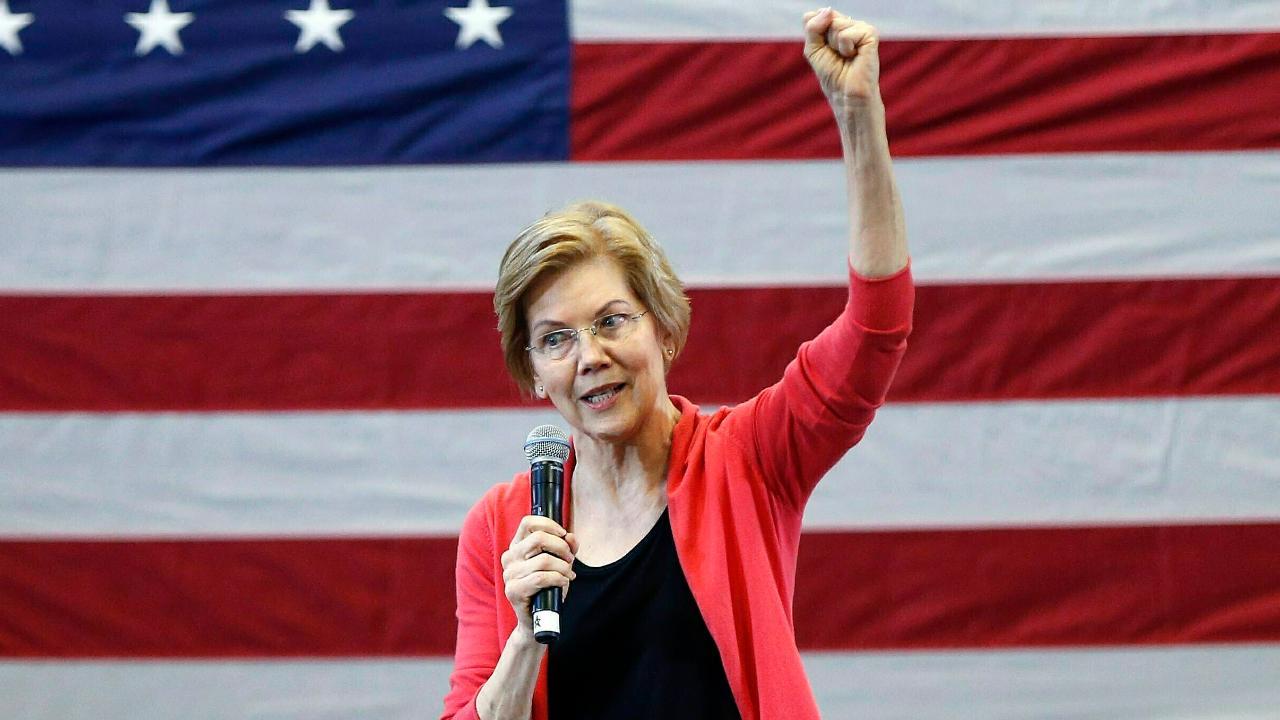 Sen. Elizabeth Warren touts wealth tax plan