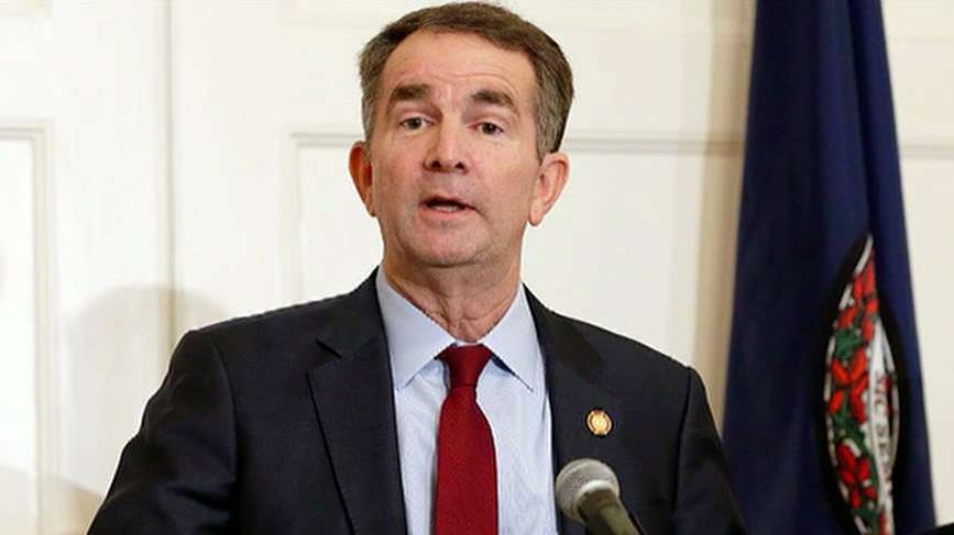 Virginia Ralph Northam zu verbieten, Waffen aus dem Capitol-Gelände, sagen die Beamten