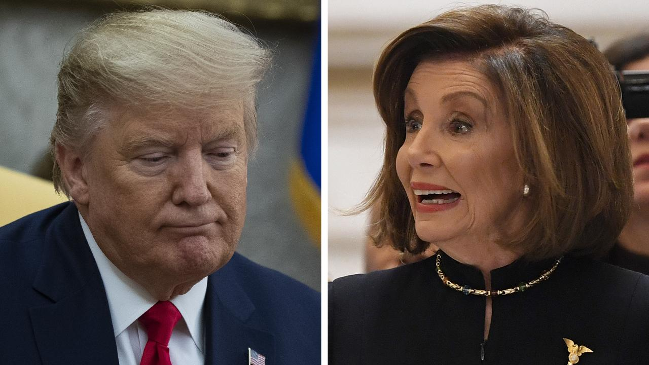 President Trump, Speaker Pelosi feud over Twitter over impeachment