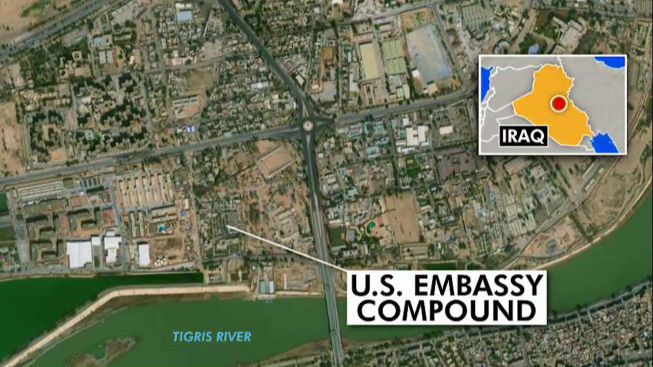 US blames Iran for US Embassy attack in Iraq