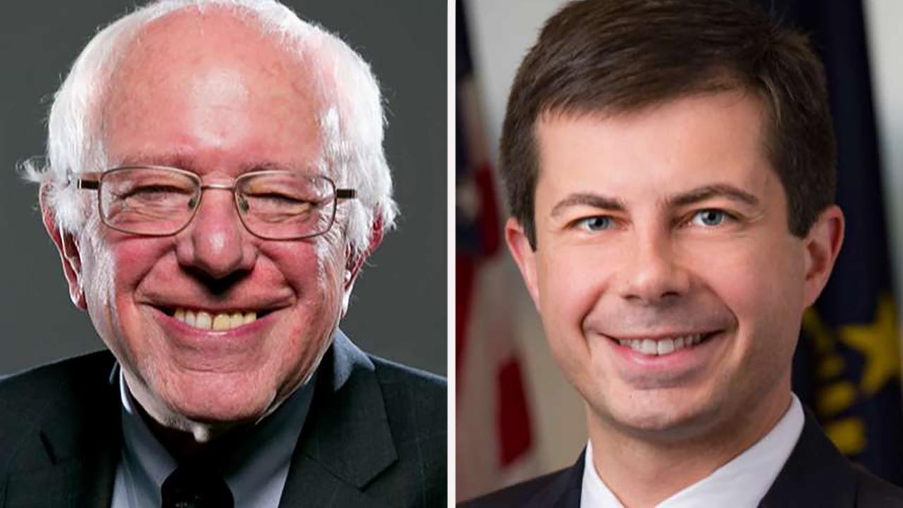 Buttigieg, Sanders post big fundraising numbers for fourth quarter