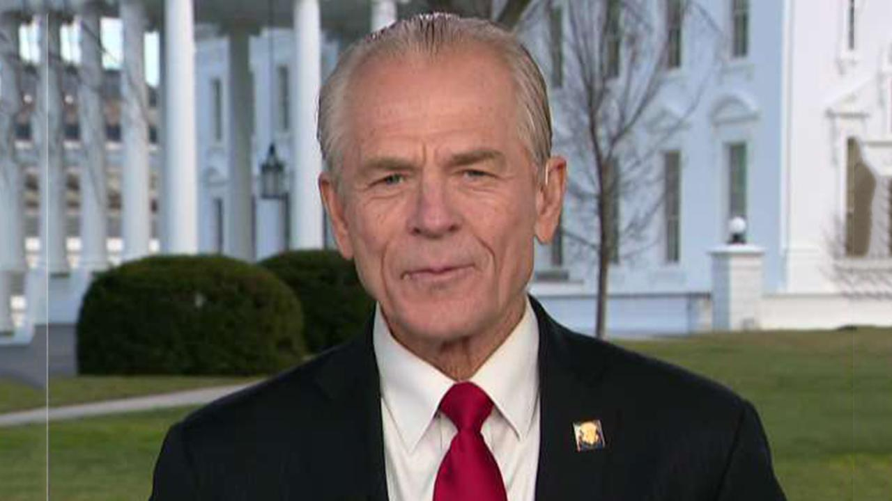 White House trade adviser Peter Navarro discusses 'phase one' of U.S.-China trade deal and the outlook for the U.S. economy in 2020.