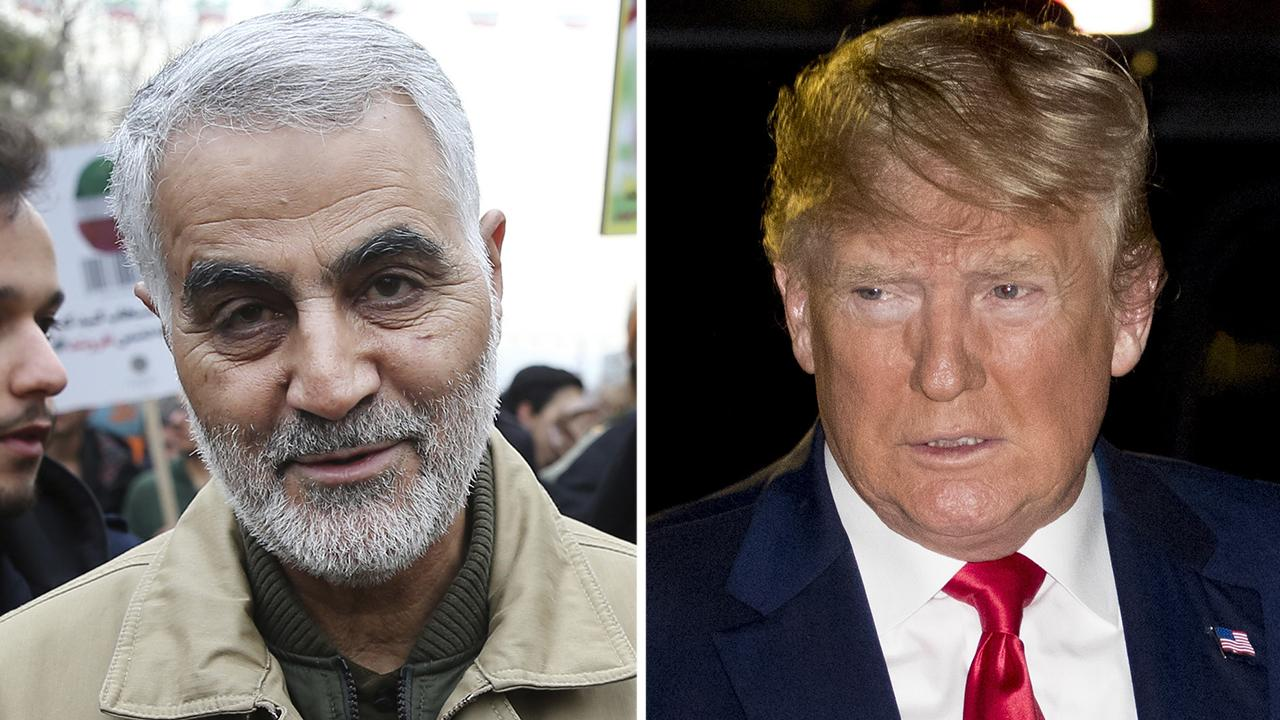 Westlake Legal Group 694940094001_6119497074001_6119495852001-vs Trump says Soleimani was planning 'imminent and sinister attacks,' defends airstrike fox-news/politics/executive/white-house fox news fnc/politics fnc article Alex Pappas 29b232af-02bc-5f69-98fd-e9cfb0b582d2