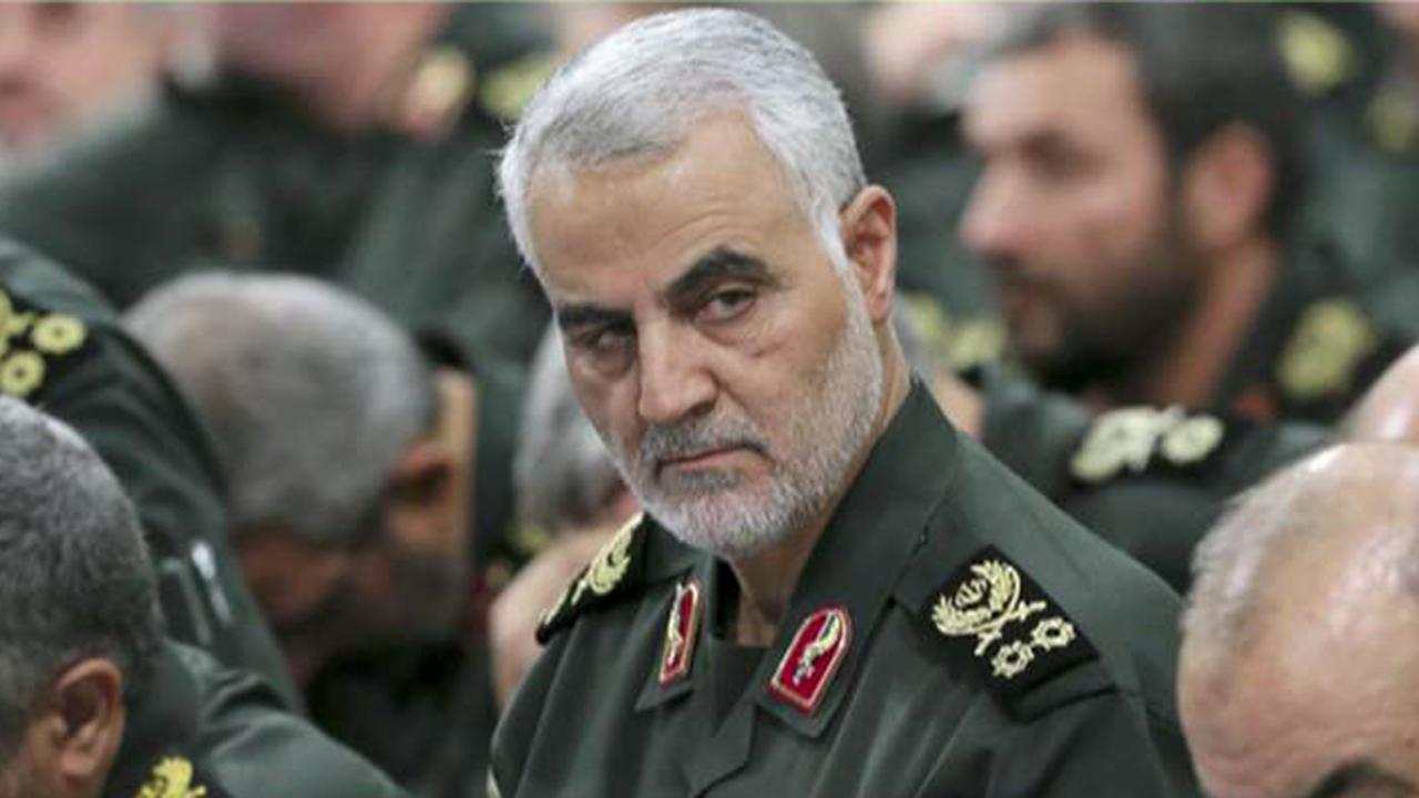 Westlake Legal Group 694940094001_6119908067001_6119907190001-vs Trump notifies Congress of warning after lawmakers said they weren't informed about Soleimani strike in advance Frank Miles fox-news/world/world-regions/middle-east fox-news/world/world-regions/iraq fox-news/world/conflicts/iran fox-news/politics/senate fox-news/politics/house-of-representatives fox-news/politics/foreign-policy/middle-east fox-news/politics/executive/white-house fox-news/person/donald-trump fox news fnc/politics fnc c76ee2f2-5f0c-58ce-b48a-c6811db7b7a2 article