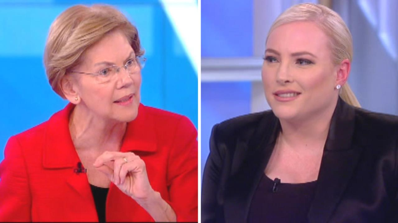 Meghan McCain confronts Elizabeth Warren on response to Iran strike