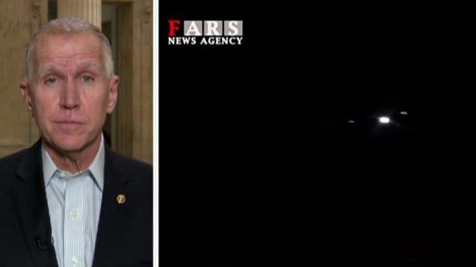 Sen. Thom Tillis says President Trump needs to be prepared to respond appropriately for Iranian missile attack
