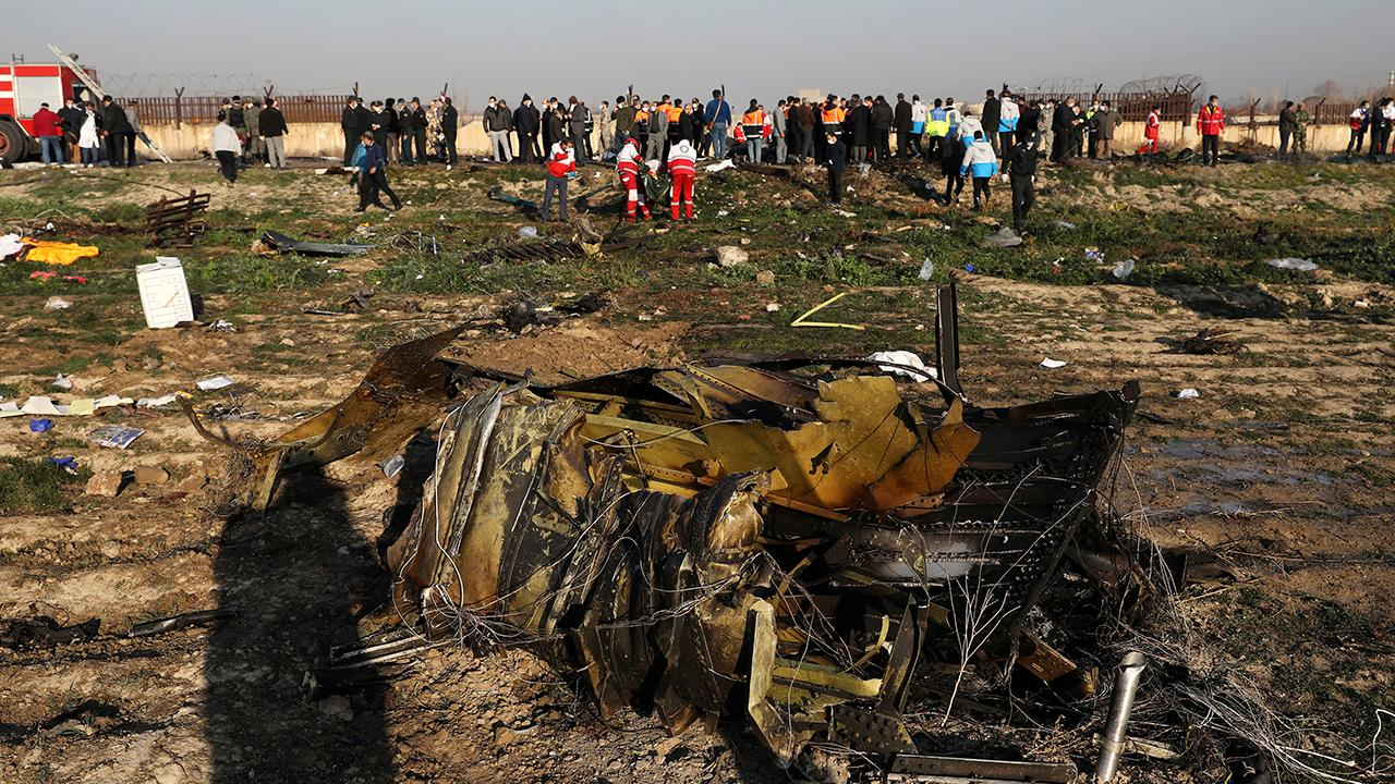 No evidence Ukraine plane crash was linked to Iran rocket attack