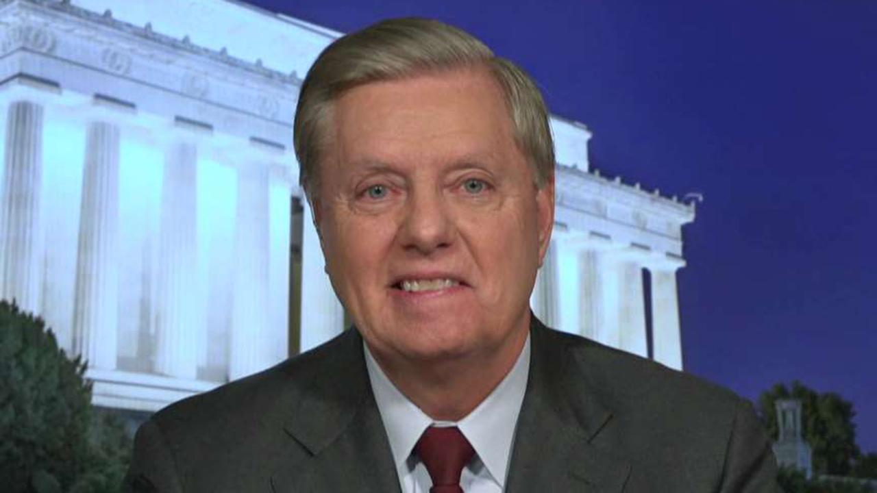 Sen. Lindsey Graham compares Trump's address on Iran to Reagan's 'tear down this wall' speech