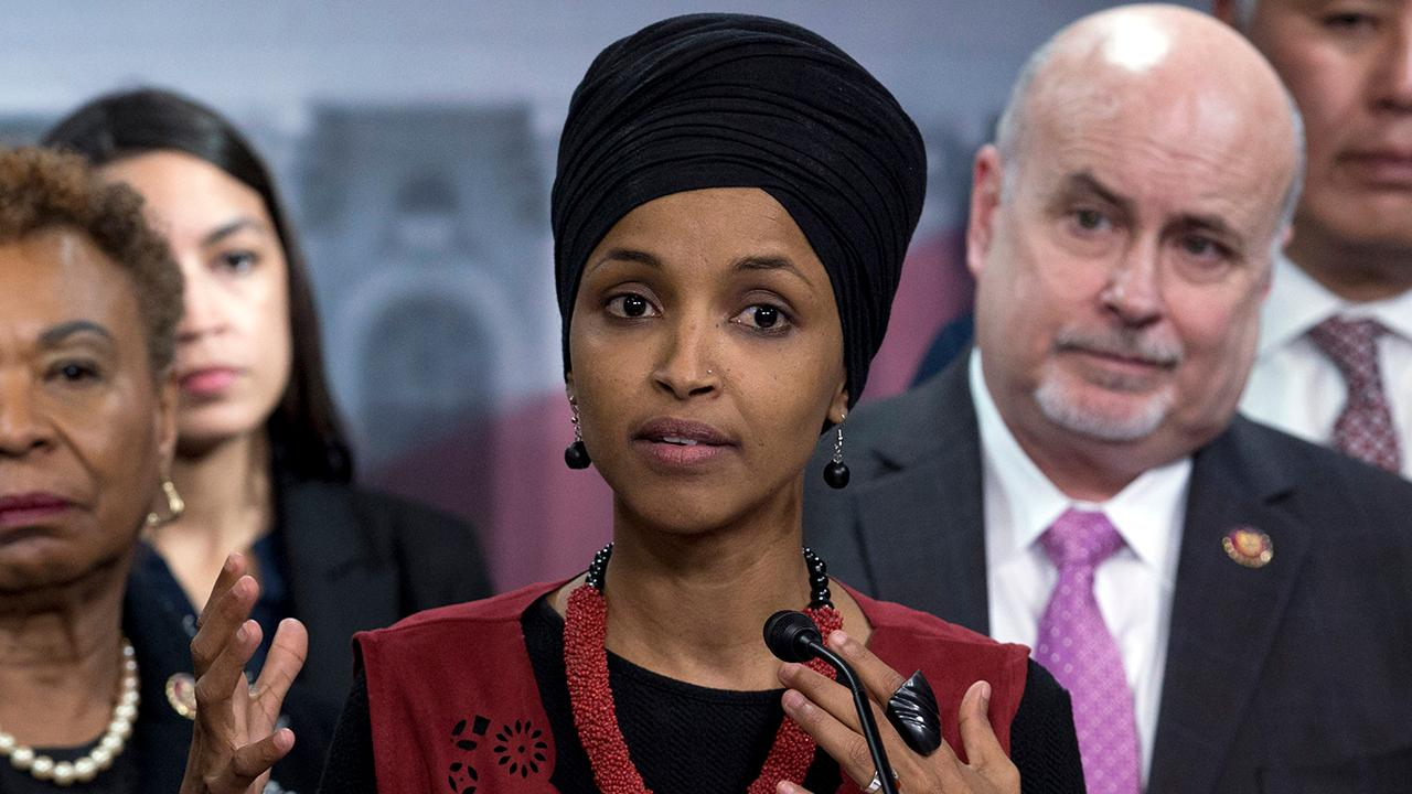 Rep. Ilhan Omar promotes call for GI Bill to apply to all Americans