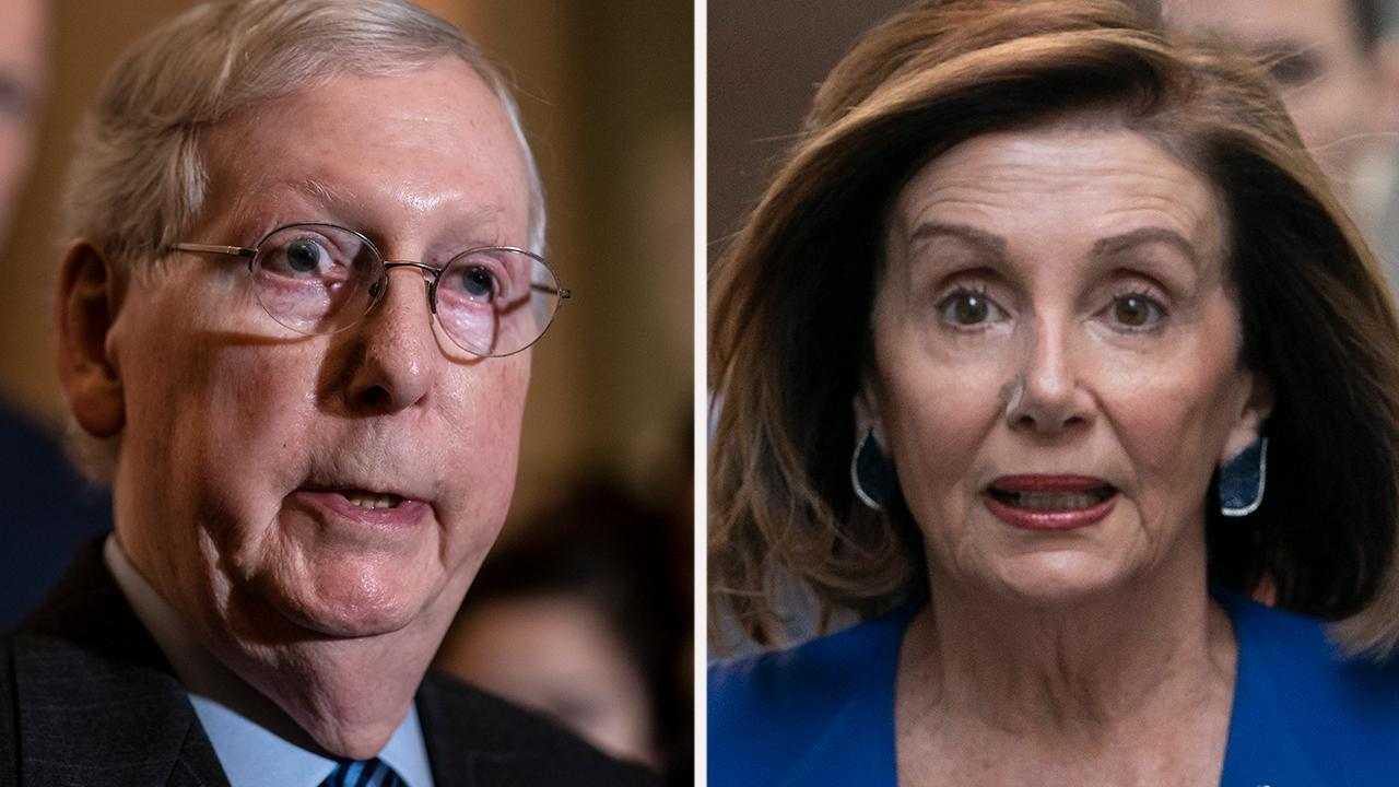 McConnell crows on Senate floor that Pelosi's impeachment 'gambit' produced 'absolutely nothing'