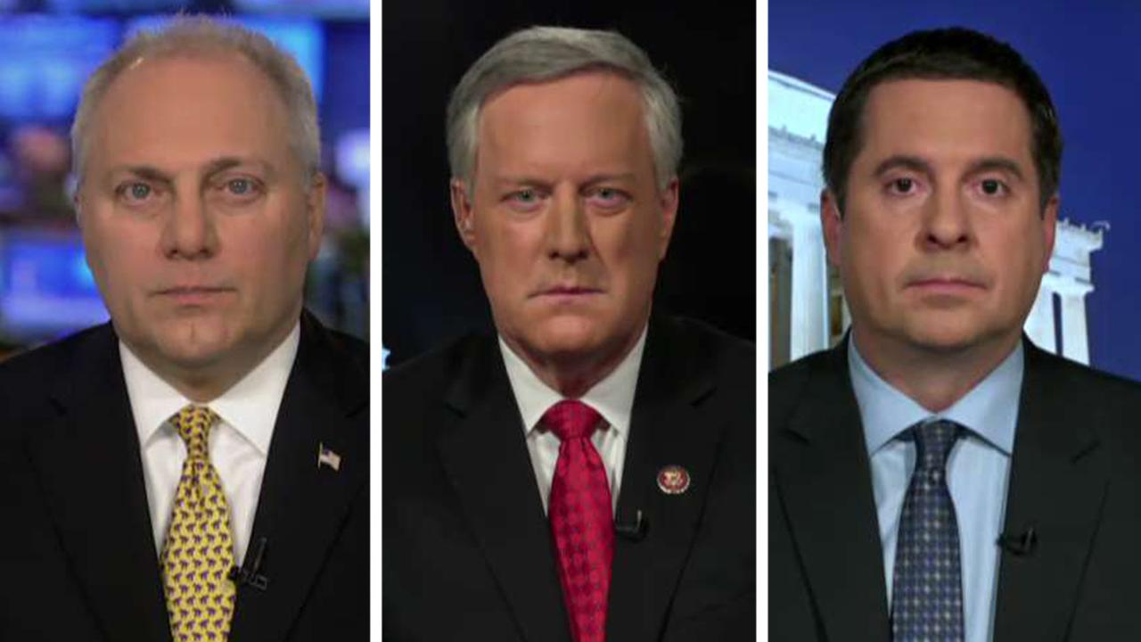 Reps. Scalise, Meadows and Nunes on Soleimani strike, impeachment and Mike Flynn's fate