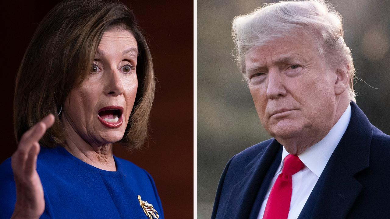 Westlake Legal Group 694940094001_6121390345001_6121384964001-vs Vertigo: Trump, Pelosi duel for airtime over China, impeachment Howard Kurtz fox-news/columns/media-buzz fox news fnc/media fnc article 33cb9c8b-bb69-546c-abe0-eeab3ef6e63a