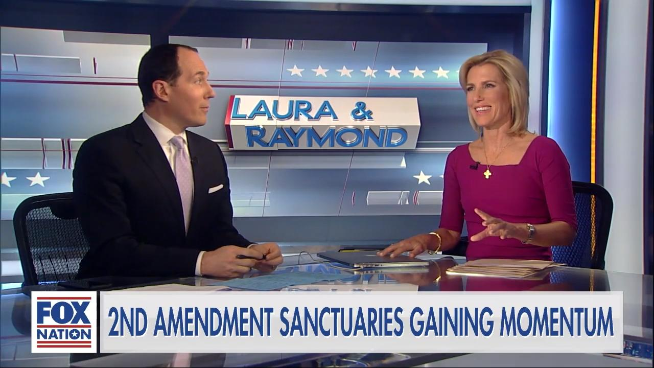 'Second Amendment sanctuary' movement headed for Supreme Court: Laura Ingraham