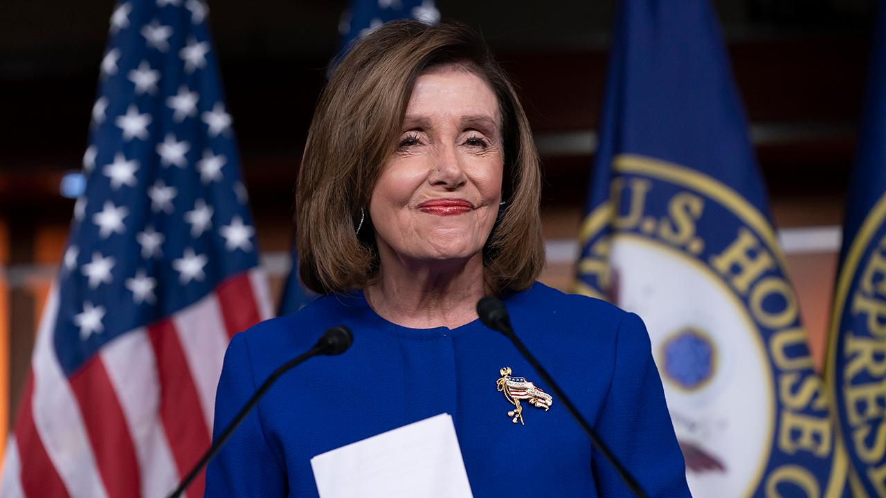 What did Nancy Pelosi gain by withholding articles of impeachment from the Senate?