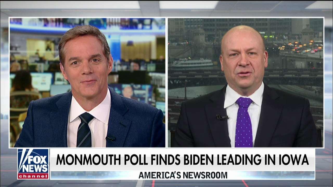 Polling: Biden, Sanders surging in Iowa