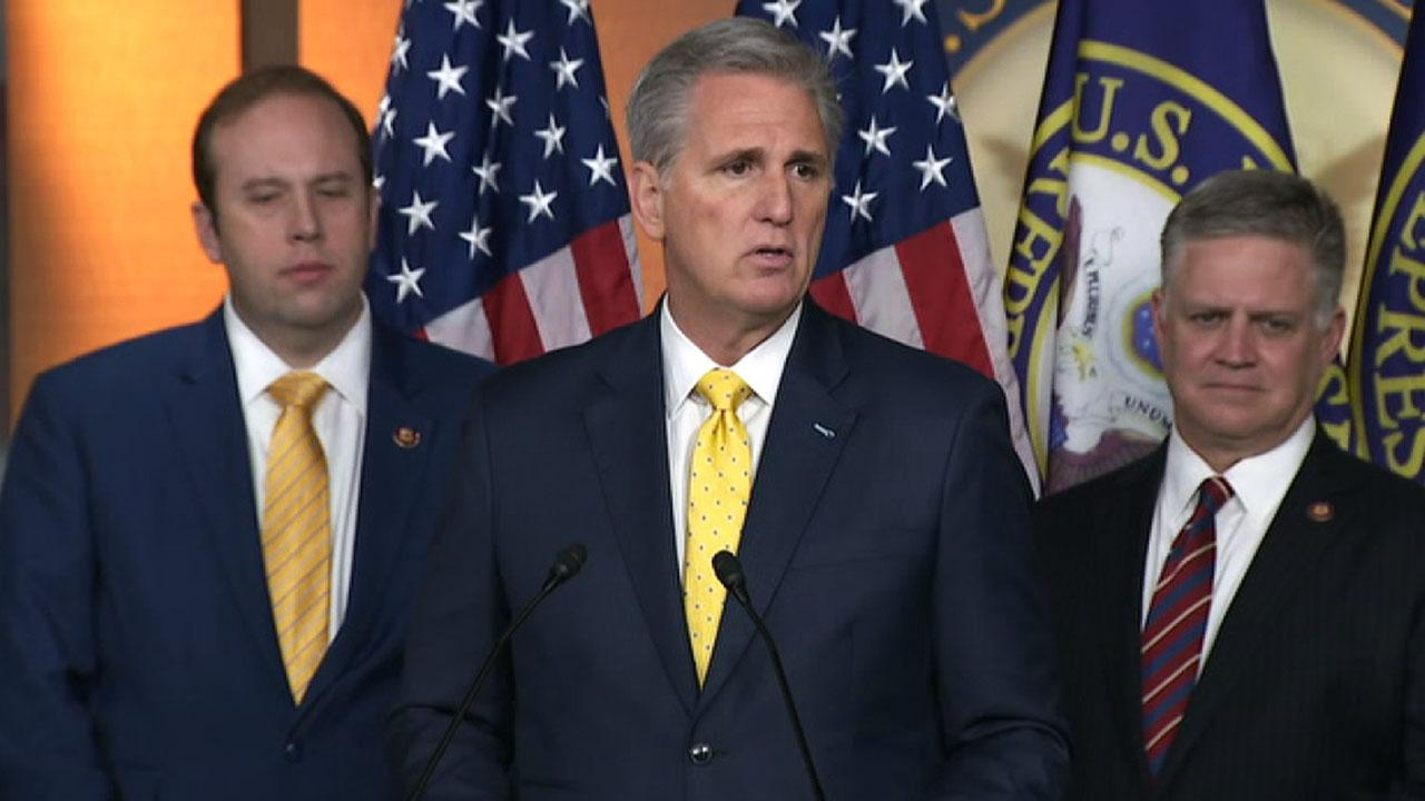 McCarthy: Democrats question why Pelosi held impeachment articles